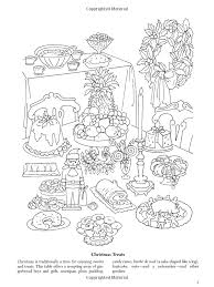 Christmas Around The World Coloring Book Dover Holiday Joan O