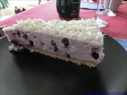 heidelbeer frischkäse torte mit weißer schokolade cahama