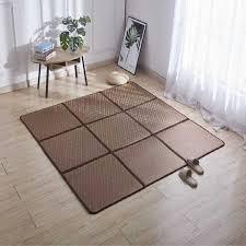 sommer infant glänzende falten rattan teppiche für wohnzimmer schlafzimmer teppiche hause tatami teppich 6mm dicken baby spielen nicht slip matten