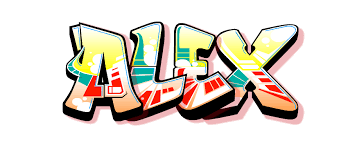New Kids On The Blog My Name In GraffitiBy Alex