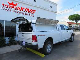 Dodge Ram Driven To Work Leer DCC Commercial Topper - TopperKING ...