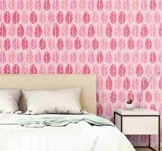 tapeten rosa birkenwald