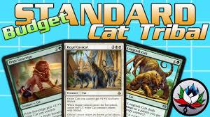 mtg g w cat tribal budget standard deck tech for magic the