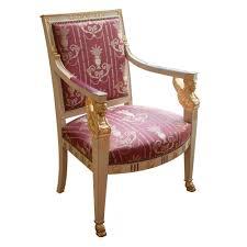 siege de style armchair pluvinet à buste empire style empire ateliers allot