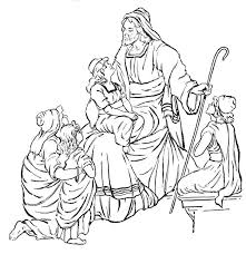 Picture Bible Story Coloring Pages 66 With Additional Free Kids