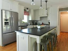 L Shaped Kitchen With Island Traditional Apron Sink Black Photos