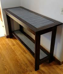 Ana White Sofa Table by Ana White 2x4 Accent Table Diy Projects