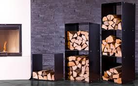 feuerholzregal aus stahlblech