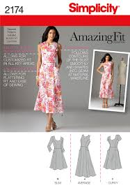 pockets simplicity pattern 2174 misses u0027 u0026 miss petite amazing