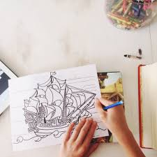 100 Design A Pirate Ship The Natomy Of Coloring Sheet Free Printable