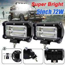 LED Work Light Bar Spot Flood Roof Lights Driving Lamp Offroad Car ... 4x 4inch Led Lights Pods Reverse Driving Work Lamp Flood Truck Jeep Lighting Eaging 12 Volt Ebay Dicn 1 Pair 5in 45w Led Floodlights For Offroad China Side Spot Light 5000 Lumen 4d Pod Combo Lights Fog Atv Offroad 3 X 4 Race Beam Kc Hilites 2 Cseries C2 Backup System 519 20 468w Bar Quad Row Offroad Utv Free Shipping 10w Cree Work Light Floodlight 200w Spotlight Outdoor Landscape Sucool 2pcs One Pack Inch Square 48w Led Work Light Off Road Amazoncom Ledkingdomus 4x 27w Pod