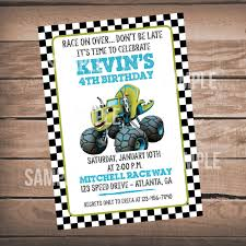 Pin By Terra Russell On Kids Birthday | Pinterest | Monster ... Mr Vs 3rd Monster Truck Birthday Party Part Ii The Fun And Cake Monster Truck Food Labels Mrruck_party_invitions_mplatesjpg Unique Free Printable Grave Digger Invitations Gallery Marvelous Ideas At In A Box Cool Blue Card Truck Birthday Blaze The Machine Invitation On Design Of Jam Ticket Style Personalized 599 Sophisticated Photo Christmas Card