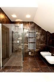 dieses braun gold schimmernde badezimmer würde wohl jeder