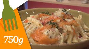 recette pate au creme fraiche recette de pâtes au saumon 750 grammes