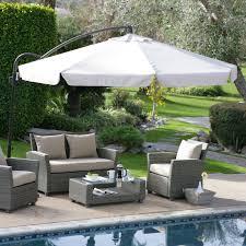 Mosquito Netting For Patio Umbrella Black by Exterior Ideas Fascinating Offset Patio Umbrellas For Outdoor