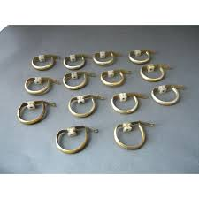 Restoration Hardware Curtain Rod Rings by Antique Curtain Hardware