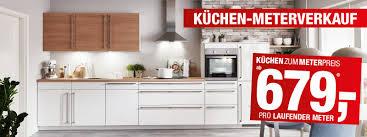küchen meterverkauf 679 pro laufmeter opti wohnwelt