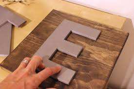 Diy Eat Kitchen Decor Flip The Letter