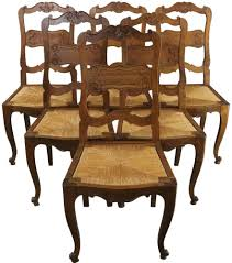 Dining Chairs French Country Farmhouse Oak Rattan Set 6 Vintage 1930 Refinished Painted Vintage 1960s Thomasville Ding Table Antique Set Of 6 Chairs French Country Kitchen Oak Of Six C Home Styles Countryside Rubbed White Chair The Awesome And Also Interesting Antique French Provincial Fniture Attractive For Eight Cane Back Ding Set Joeabrahamco Breathtaking