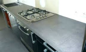 beton cire plan de travail carrelage plan travail cuisine beton cire