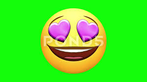 Video Emojis Happy Love Laugh ROFL Neutral Wow Several Versions Green Screen 73836084