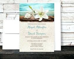 Good Rustic Beach Wedding Invitations Or Best Ideas On