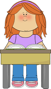 Student Reading School Book Clip Art Student Reading School Book