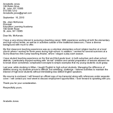 Address Cover Letter Theshakespeares