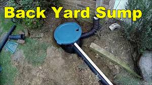 How To Install Sump Pump, 3 Examples - YouTube 76 Best Dry Creek Bed Landscaping Images On Pinterest This Would Be My Favorite Pumps Barrel Planter Back Yard Sump Pump With French Drain Get Rid Of The Flood Youtube Oak Avenue Floods June 2013 Backyard Orlando Fl Crawl Space Pool Patio Diy Water Collection How To Install A Do It Yourself Project By Apple Water Grove Landscaping Backyards Compact Diy 143 Outdoor Installation