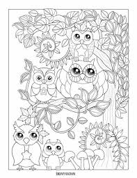 Beautiful Owl Coloring Page From Autumn Falls By Ebony Rainn The Free PDF Is On Her