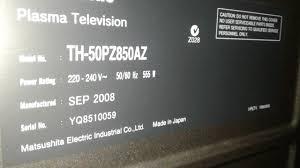 Sony Kdf 50e2000 Lamp Light Flashing Red by My Panasonic 50
