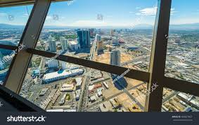 Stratosphere Observation Deck Hours by Las Vegas Cityscape Panorama Top Stratosphere Stock Photo