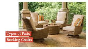 Types Of Patio Rocking Chairs – Sunniland Patio - Patio ...
