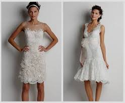 Short Rustic Wedding Dresses 2018