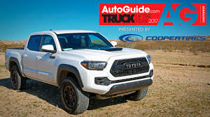 2017 Toyota Tacoma TRD Pro - 2017 AutoGuide.com Truck Of The Year ... New 2018 Toyota Tacoma Trd Off Road Double Cab 5 Bed V6 4x4 2017 Pro Autoguidecom Truck Of The Year Pickup Walkaround 2016 Toyota Elevates Off Road Exploration With Pro Pickup Trucks Chicago Auto Show 2019 Tundra And 4runner Reviews Rating Motor Trend Get Extreme Get Dirty Out There The Series For Sale Near Prince William Va Used Toyota Tacoma Double Cab Off At Sullivan Company 4wd Limited Crewmax Offroad Review An Apocalypseproof