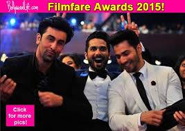 fare Awards 2015 Ranbir Kapoor Varun Dhawan and Shahid