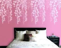Tree Wall Painting Stencils Bedroom Cherry Blossom Stencil Remodel Ideas