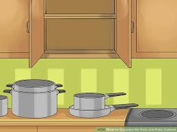 how to organize the pots and pans cabinet 14 steps