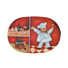 Fat French Chef Kitchen Curtains by Home Design Bistro Fat Chef Kitchen Decor Figurine Wall