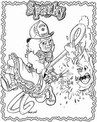 Sparky The Fire Dog Coloring Pages 103