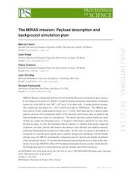 100 Mirax PDF The MIRAX Mission Payload Description And Background