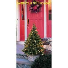 gki bethlehem lighting 4 pre lit led outdoor stake tree