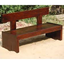 Wood Benches Outdoor