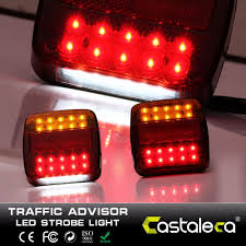 Castaleca 12V 20 Leds Car Truck Warning Rear Tail Light Warning ... Car Dashboard Warning Lights Uerstanding What They Mean How To Led Lights On Work Truck Youtube 16leds 18 Flashing Modes Emergency Flash Dash Strobe Light Mckenna Automotive Services Auto Repair Skokie Il Gm Ford Chrysler Vehicle Outfitting Pride Group Llc Chevrolet Decent Used 2014 Mack Fire Exterior Mount And Pimeter Umbrella Beautiful China Police Bars For Diesel Staleca 12v 20 Leds Rear Tail Ultra Slim Bright 12led Surface