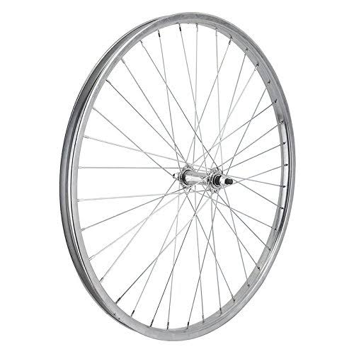"Wheel Master Front Bicycle Wheel - Silver, 26"" x 1.75/2.125"" 36H, Bolt On"