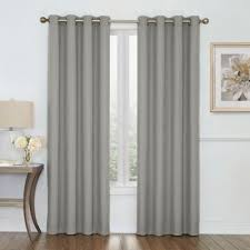 Geometric Pattern Grommet Curtains by Buy Grey Grommet Curtains From Bed Bath U0026 Beyond