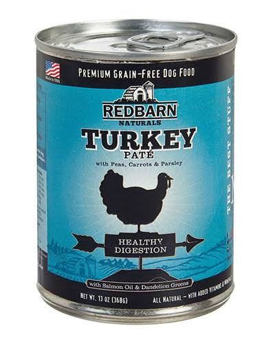Redbarn Pate Healthy Digestion Dog Food - Turkey, 13oz