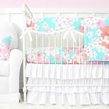 Aqua And Coral Crib Bedding by Blue Baby Crib Bedding Navy Baby Bedding Caden Lane U2013 Tagged