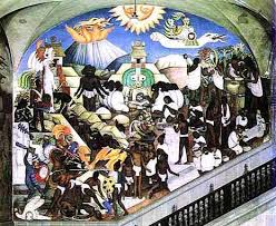 Jose Clemente Orozco Murals by Murals By Diego Rivera Jose Clemente Orozco And Oswaldo Barra In
