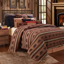 Wooded River Bedding by Luxury Rustic Bedding And Cabin Bedding